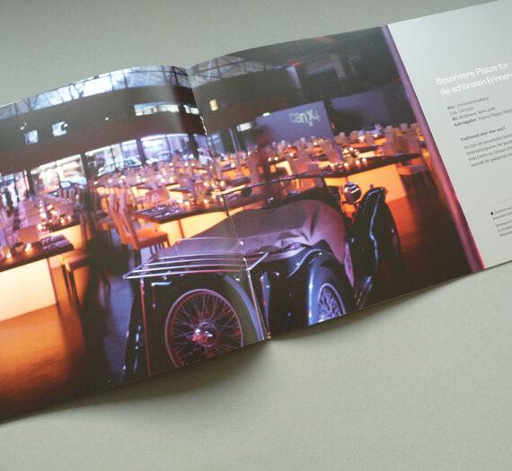 Image-Broschüre für Event-Agentur